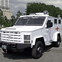 The Bangor Police Department has requested $208,772 to purchase an armor protected vehicle similar to this model made by Lenco in Pittsfield, Massachusetts.