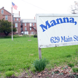 Manna Ministries can be seen recently in Bangor.