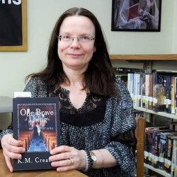 "Wells resident Karen Creamer recently published her first novel, ""One Brave Thing."""
