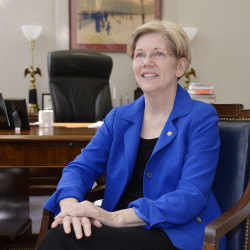 Sen. Elizabeth Warren of Massachusetts