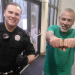 Bangor police snapphoto of man with a 'cops suck' tattoo to spread a message