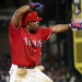 Rangers get to Boston's Wright in 10-3 win