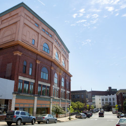 The historic downtown building at 73 Central St. can be seen last week in Bangor.