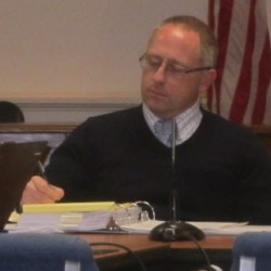 Rockland City Attorney Kevin Beal is shown at a May meeting. Beal has submitted his resignation to the city.