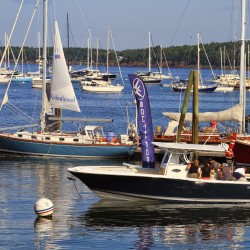 The annual Maine Boats, Homes & Harbors Show in August is the only in-water boat show in the state.