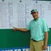 Golfer ties course record, grabs lead at Greater Bangor Open