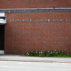 Brunswick Junior High School can be seen in Brunswick in this May 2015 file photo.