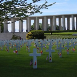 Nearly 8,000 World War II soldiers are interred at Henri-Chapelle American Cemetery in Homburg, Belgium. A woman from New Hampshire is working to tell the stories of the 54 Maine soldiers who are interred or memorialized there.