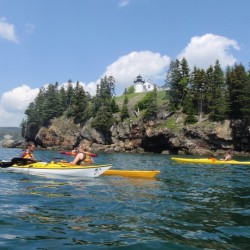 Sea kayak at Acadia National Park