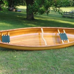 finished canoe