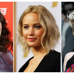 Melissa McCarthy (from left),  Jennifer Lawrence and Scarlett Johansson are the highest-paid actresses this year.